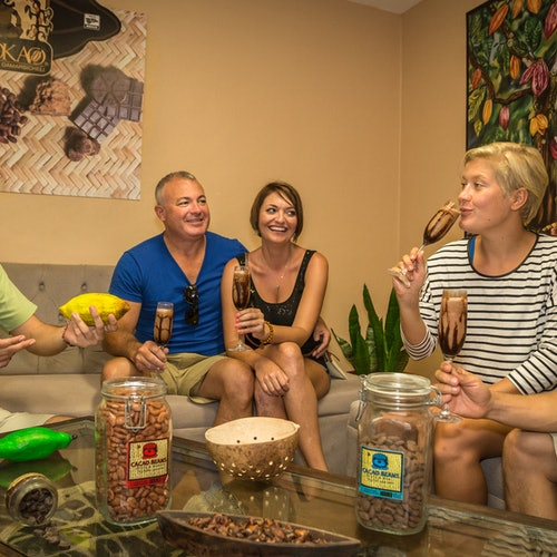 Discover Mexico Park Cozumel con taller de chocolate y esnórquel en SkyReef
