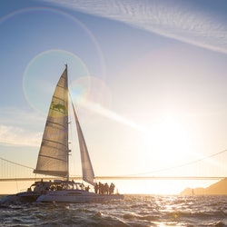 Sunset Catamaran Cruise on San Francisco Bay