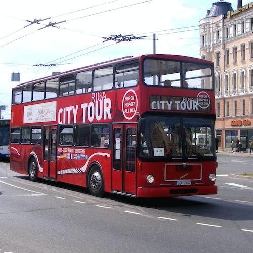Bus turístico por Riga 48 horas