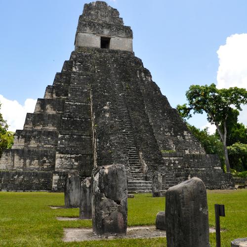Ruinas de Tikal: Admisión y trayecto de ida y vuelta desde Flores