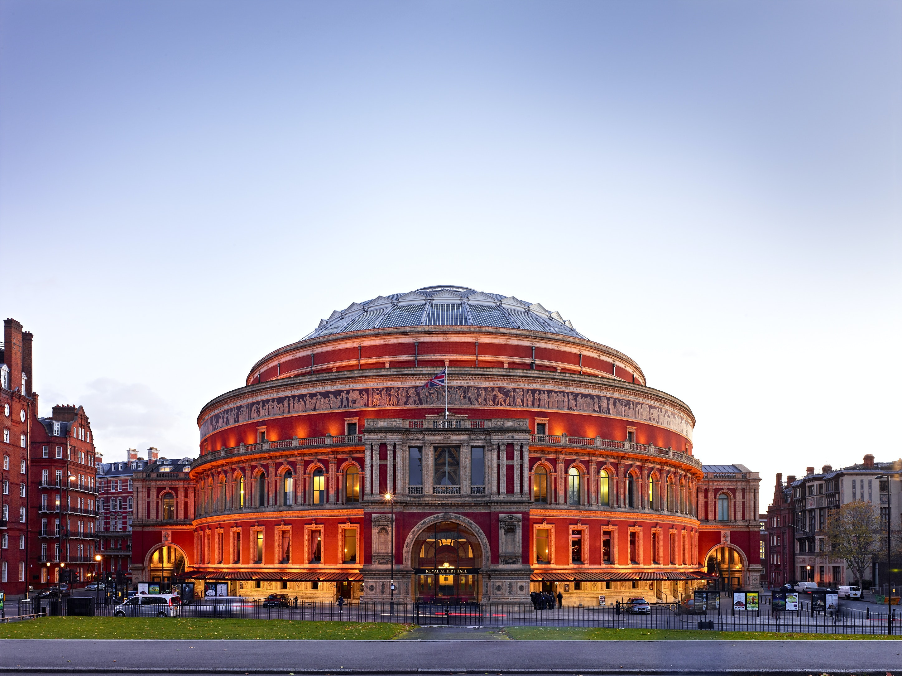 Tickets royal albert hall begeleid bezoek tiqets for Door 12 royal albert hall