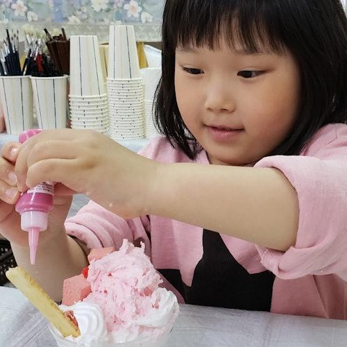 Taller de réplica de comida: Copa de helado