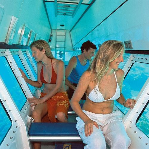 Crucero por el arrecife exterior y plataforma de actividades desde Port Douglas