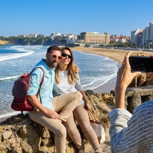 Tour guiado de Biarritz y la costa vasca francesa desde San Sebastián