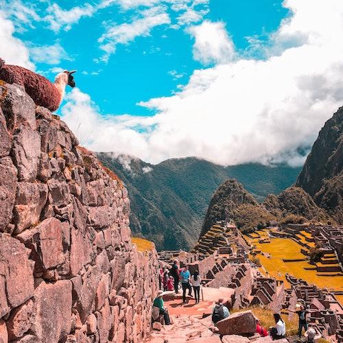 Machu Picchu: Entrada
