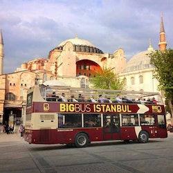 Hop-on Hop-off Bus Istanbul 24H + Bosphorus Cruise