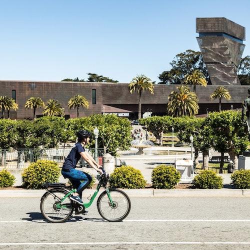 Alcatraz y Golden Gate Park: Tour guiado en bici