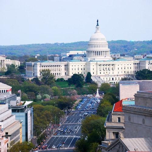 Dos capitales en un día: Washington y Filadelfia desde Nueva York
