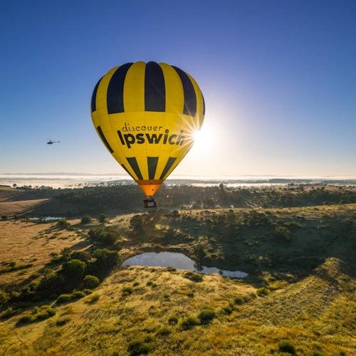 Greater Brisbane Hot Air Balloon Flight & Optional Breakfast