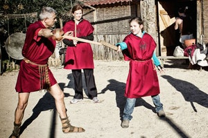 Gladiator School Rome