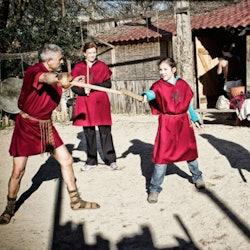 Imagen Entrenamiento de gladiadores y Museo-Escuela
