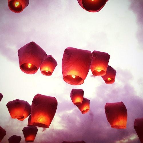 Festival de los faroles de Pingxi y paseo por la calle antigua