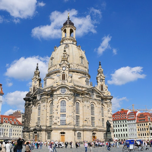 Semperoper & Dresden Old Town: German Guided Tour