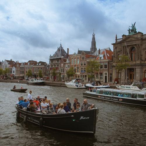 Crucero por los canales de Haarlem