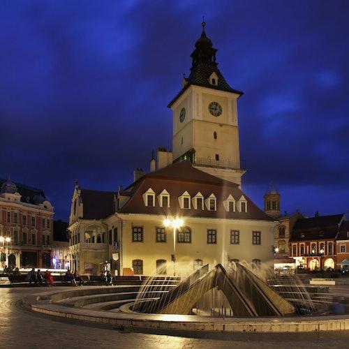 Brașov by Night + Black Church: Fast Track