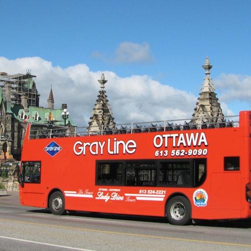 Ottawa City Tour: Hop-on Hop-off Bus