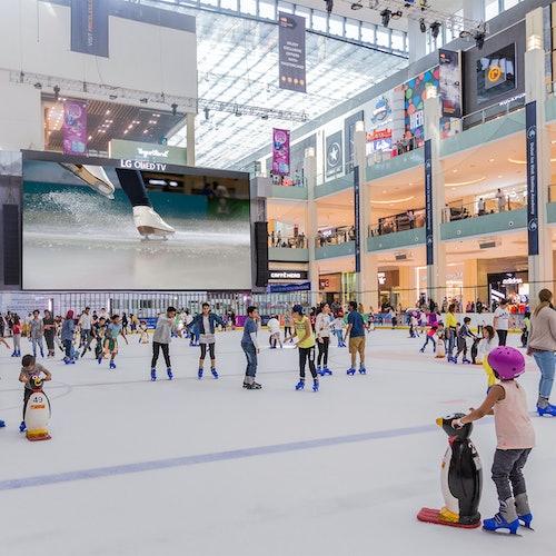 Pista de hielo Dubai
