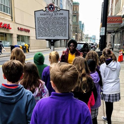 Tour del Movimiento por los derechos civiles en Nashville