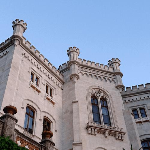 Castillo y parque de Miramare