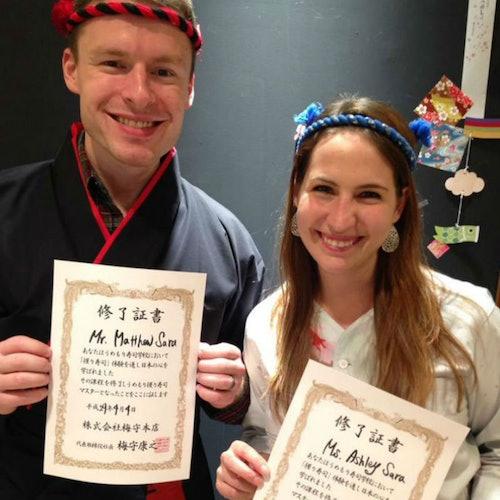 Escuela de sushi Umemori Kioto