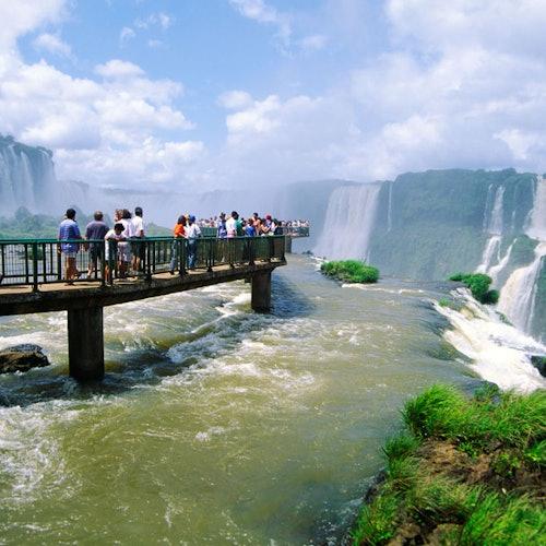Iguazú Falls Argentinean Side: Entrance, Guided Tour & Transport