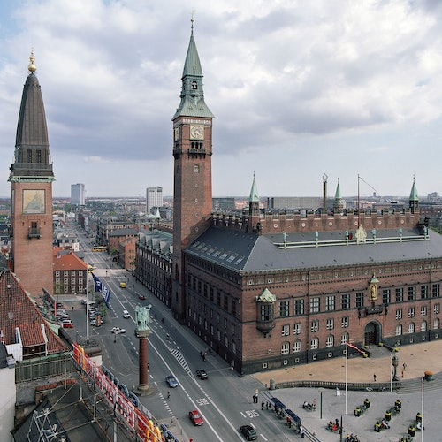 Copenhagen City Hall: Tower Tour