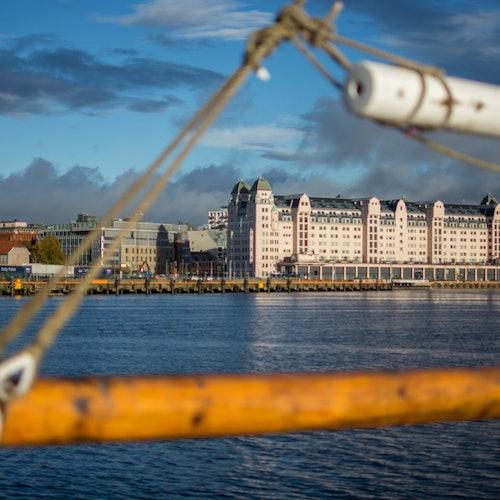 Barco turístico por Oslo