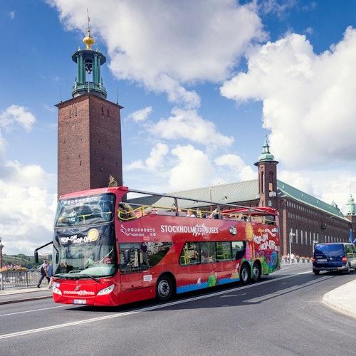Bus turístico Estocolmo