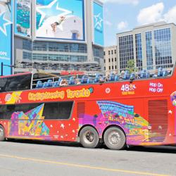 Hop-on Hop-off 2-Day Pass Toronto