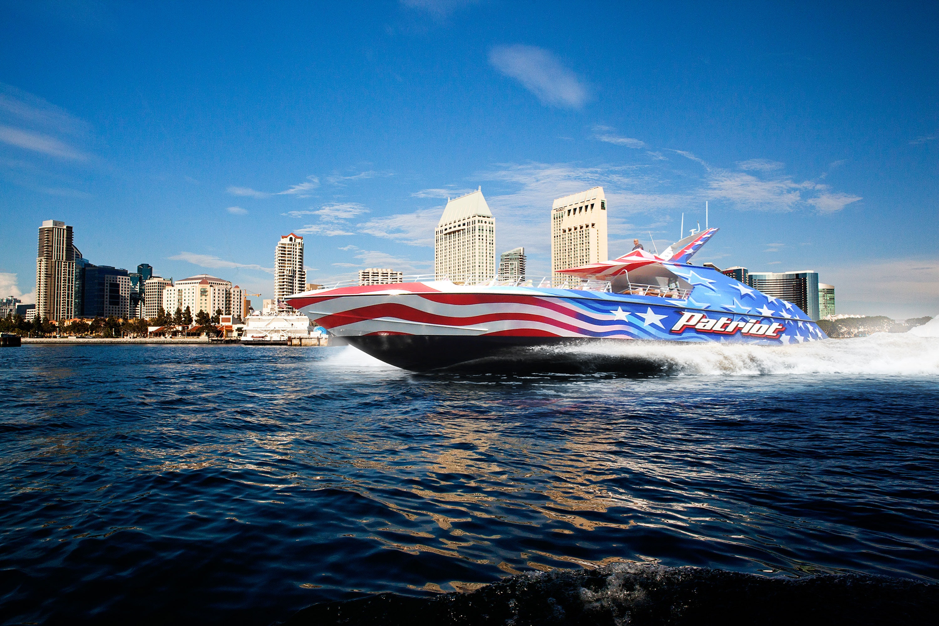 Tickets for Patriot Jet Boat Thrill Ride  Image