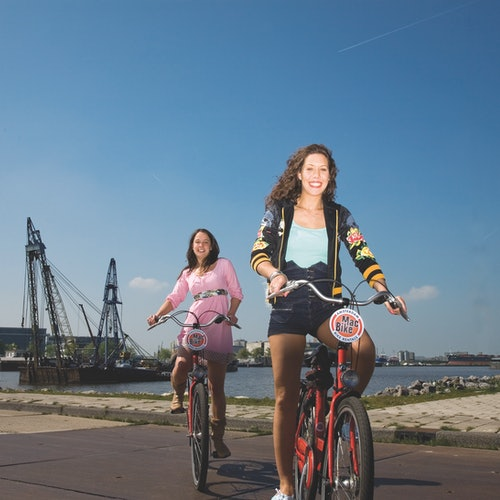 MacBike Amsterdam Bike Rental (Amsterdam Central Station)