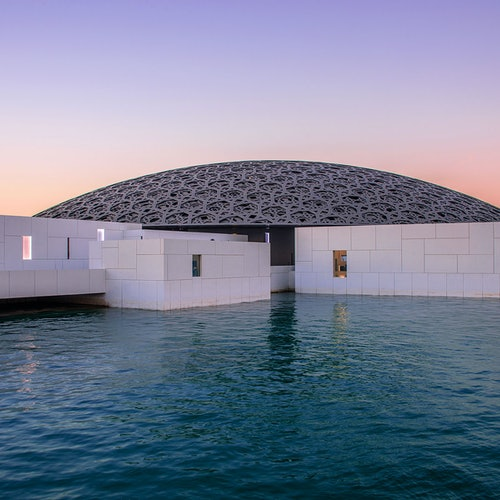 Louvre Abu Dabi: Sin colas