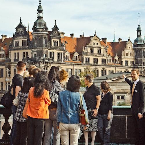 Semperoper: Visita guiada en alemán