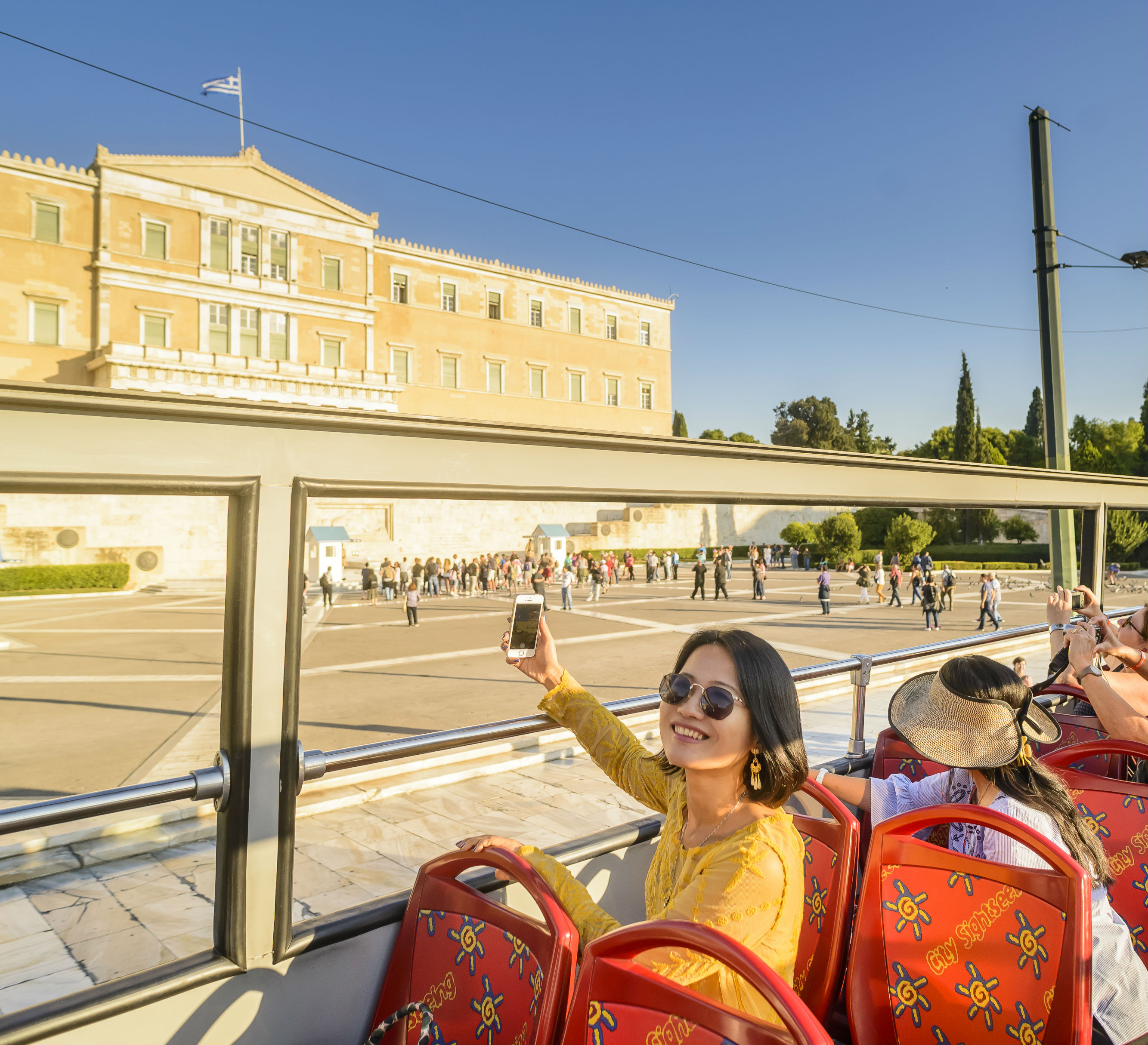 Tickets for Hop-on Hop-off Bus Athens