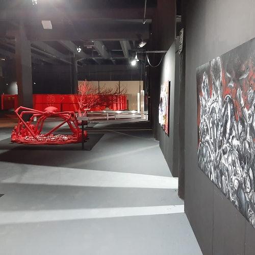 La Exposición de Gernika Roja