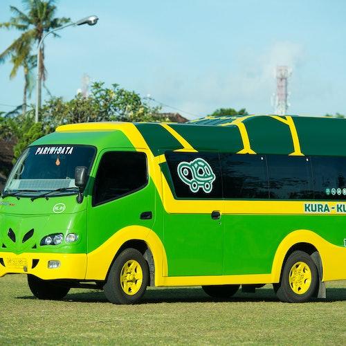 Bus Kura-Kura Bali: Pase de 1, 3 o 7 días