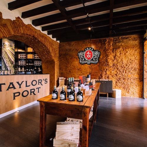 Taylor's Port - Tienda de vinos y sala de degustación