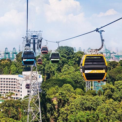 Teleférico de Singapur: Trayectos ilimitados + 1 bebida