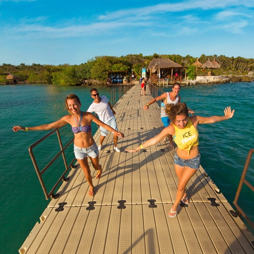 Parque Xel-Há y Tulum: Acceso rápido + Transporte