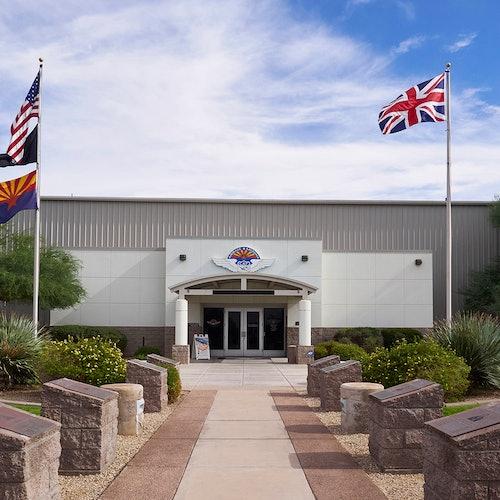 Museo conmemorativo de las Fuerzas Aéreas de Arizona: Acceso rápido