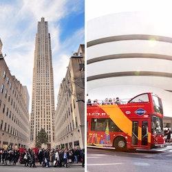 Tickets, museos, atracciones,Tickets, museums, attractions,Rockefeller Center,Con tour en autobús turístico,Rockefeller Center