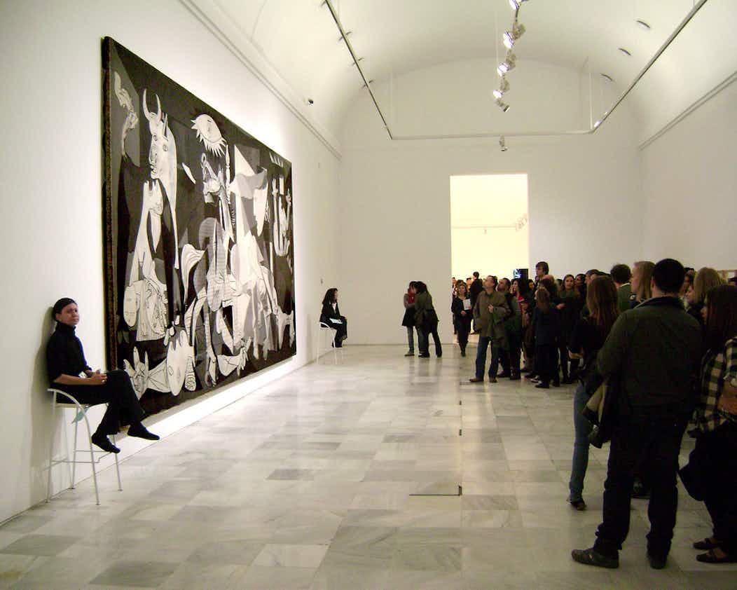 Museo Reina Sofia.Tickets Guided Tour Museo Reina Sofia Madrid Tiqets