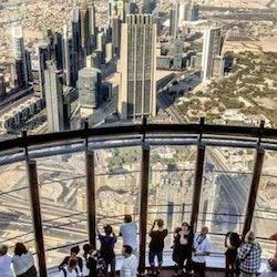 Burj Khalifa: 124th Floor + Lunch at Armani Deli