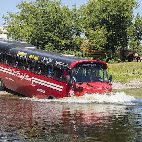 Ottawa City Tour: Amphibus