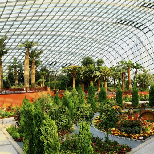 Jardines de la Bahía: Entrada directa