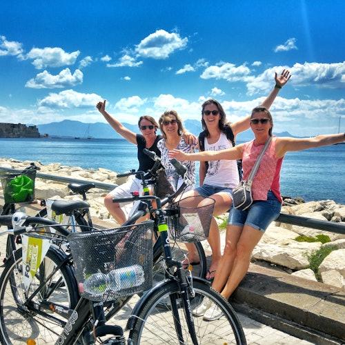 Tour en bici de lo mejor de Nápoles