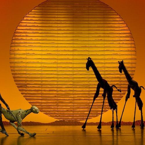 El rey león en Broadway