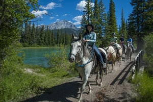 Warner Stables - Banff Trail Riders
