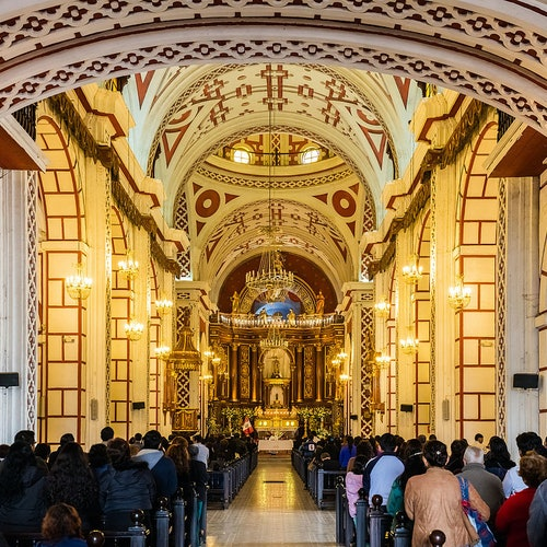 Church and Convent of San Francisco, Downtown & Central Market: Guided Tour