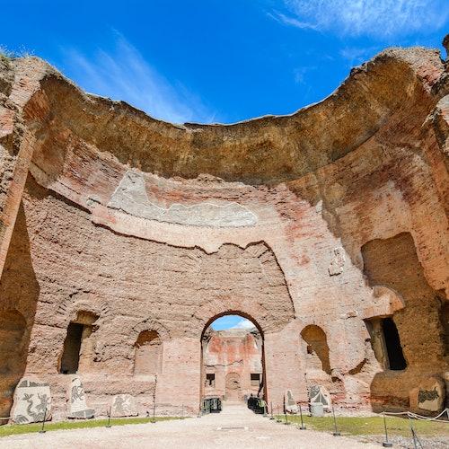Baths of Caracalla + 3-Hour Bike Rental